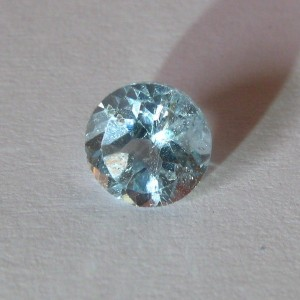 Round Light Blue Topaz 1.05 carat