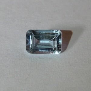 Batu Permata Light Blue Topaz Rectangular 0.8 carat