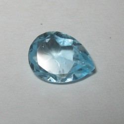 Pear Light Blue Topaz 1.20 carat