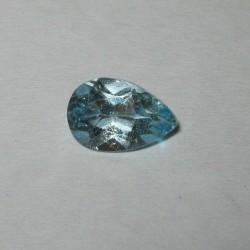 Pear Shape Blue Topaz 1.45 carat