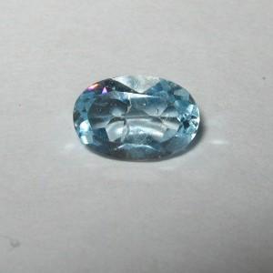 Oval Light Blue Topaz 0.55 carat