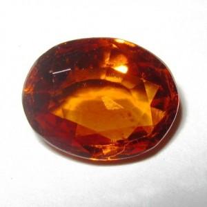 Hessonite Garnet Oval 2.83 carat