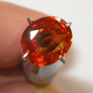 Hessonite Garnet 1.92 Oval
