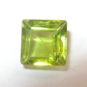 Rectangular Peridot 0.80 carat