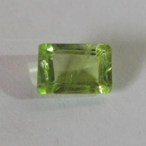 Peridot Segi Panjang 0.80 carat