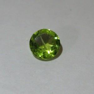 Round Peridot 0.80 carat