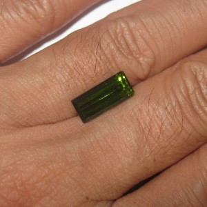 Rectangular Tourmaline 2.85 carat