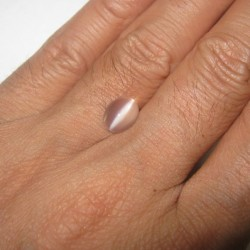 Biduri Bulan Cat Eye Oval 2.10 carat