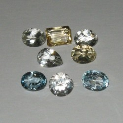 17ct. Lot Grosir Permata I ~ Natural Gem Stone Whole Sale