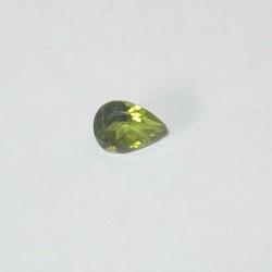 Peridot Pear Shape 0.75 carat
