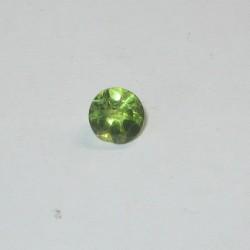 Batu Permata Peridot Round 4mm