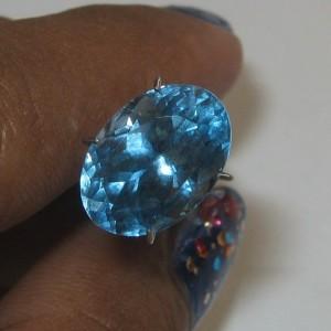 Swiss Blue Topaz 5.46 carat