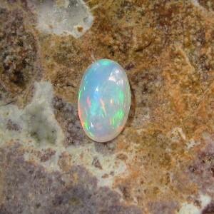 Opal Floral Harlequin 2.00 carat