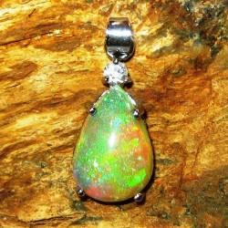 Liontin Opal Rintik 3.37 carat