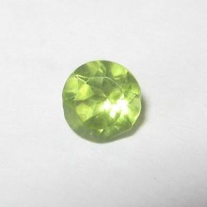 Round Peridot 0.55 carat