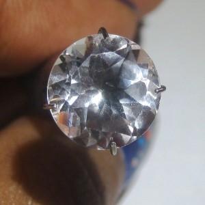 Round White Topaz 4.38 carat