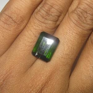 Tourmaline Hijau Octagon 6.10 carat