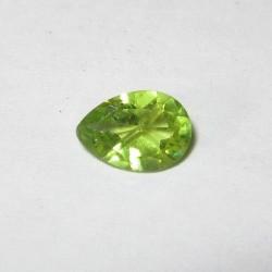 Pear Shape Peridot 0.75 carat