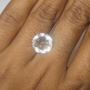 Batu Permata Topaz Bening 3.43 carat