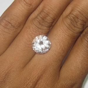 Natural Topaz Bening Round 4.85 carat