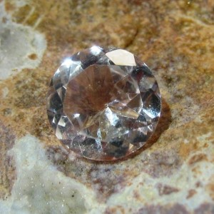 Round Natural White Topaz 3.73 carat