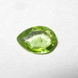 Peridot Pear Shape 0.65 carat