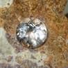 Round White Topaz 4.31 carat