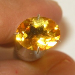 Oval Orange Citrine 1.43 carat