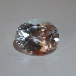 Batu Permata Oval White Topaz 4.71 carat