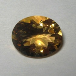 Yellow Citrine Oval 3.13 carat