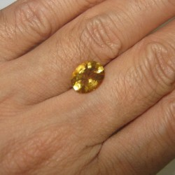 Oval Yellow Citrine 2.31 carat