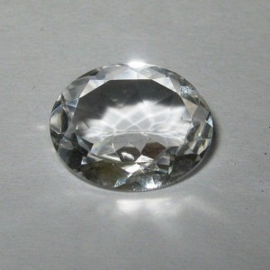 Oval White Topaz 3.46 carat