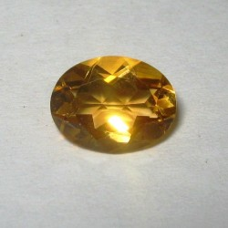 Orangy Yellow Citrine 1.52 carat