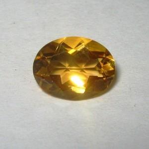 Orangy Yellow Citrine 1.53 carat Batu Permata Indah