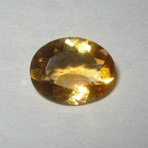 Oval Orangy Yellow Citrine 1.97 carat