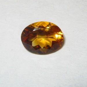 Orangy Yellow Citrine 1.59 carat