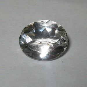 Batu Permata Topaz Bening Oval 4.62 carat