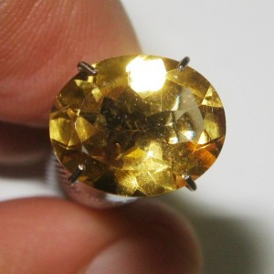 Yellow Citrine Oval 2.23 carat