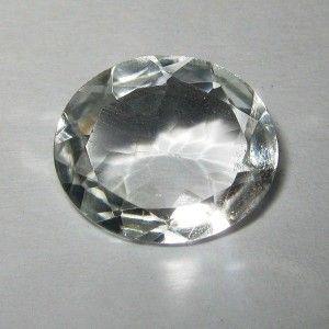 Colorless Topaz Oval 4.27 carat