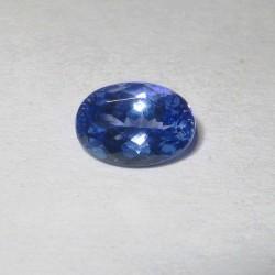 Violetish Blue Tanzanite 1.15 carat