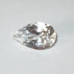 Pear White Topaz 4.01 carat