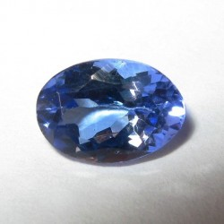 Tanzanite Oval Purplish Blue 0.87 carat