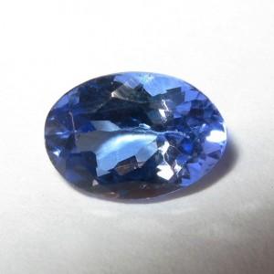 Tanznite Oval Purplish Blue 0.87 carat