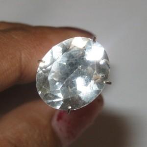 Oval Natural White Topaz 4.81 carat