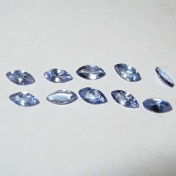 10 pcs Marquise Violet Blue Tanzanite
