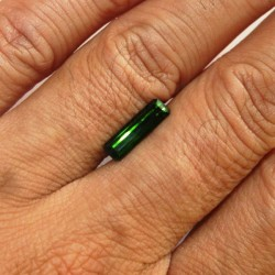 Green Tourmaline Octagon 1.39 carat
