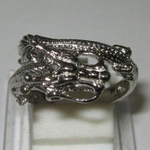 Cincin Silver Dragon Ring 7.5US