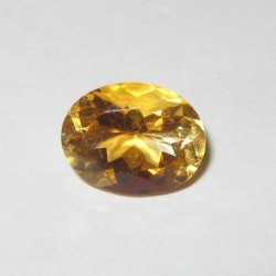 Oval Orangy Yellow Citrine 1.88 carat