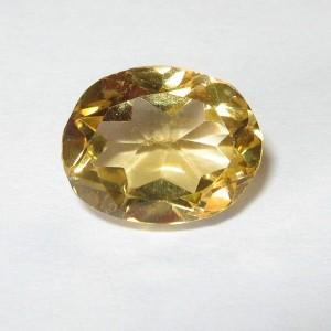 Light Golden Citrine Oval Fancy 2.50 carat