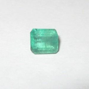 Zamrud Brazil Octagon 0.55 carat Hijau Apel